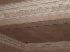 Photo - Bespoke plaster cornices handcrafted to a client's own design, nicely combining several styles